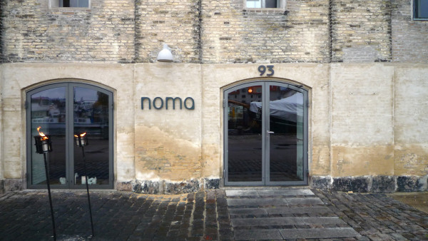 Main Entrance of Noma Restaurant in Copenhagen