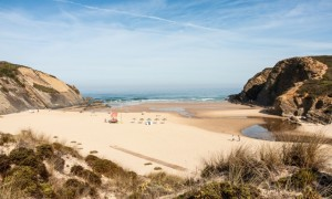 Carvalhal beach is reached by dirt track from Zambujeira do Mar. Photograph: Henrique Feliciano Photography/Getty Images/Flickr Open