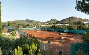 Tennis at La Manga Club in Spain