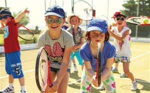 Tennis coaching for adults and children is offered at Mark Warner's Greek resorts